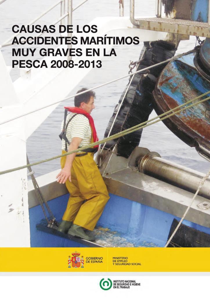 Causas de los accidentes marítimos muy graves en la pesca 2008 – 2013