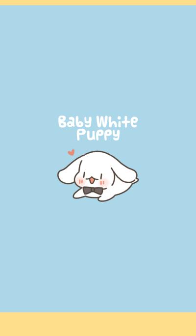 Baby White Puppy
