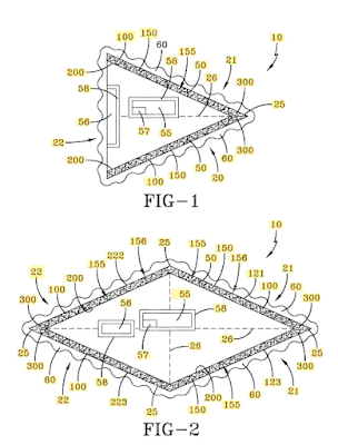 Patent for Navy's Advanced Aircraft