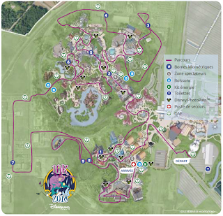 DLP Magic Run 2018 parcours 10K