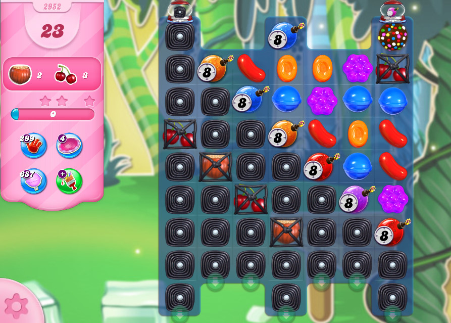 Candy Crush Saga level 2952