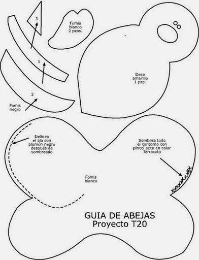 Guirlanda Joaninha Com Molde Para Imprimir Como Fazer