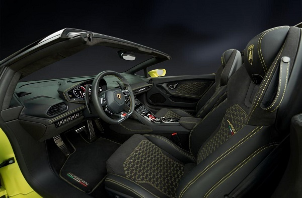 Interior Lamborghini Huracán Spyder RWD