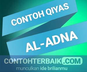 Contoh Qiyas Al Adna Smansa Edu