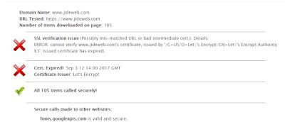 expired letsencrypt ssl certificate