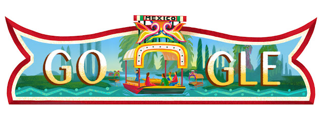 Mexico National Day 2016 - Google Doodle