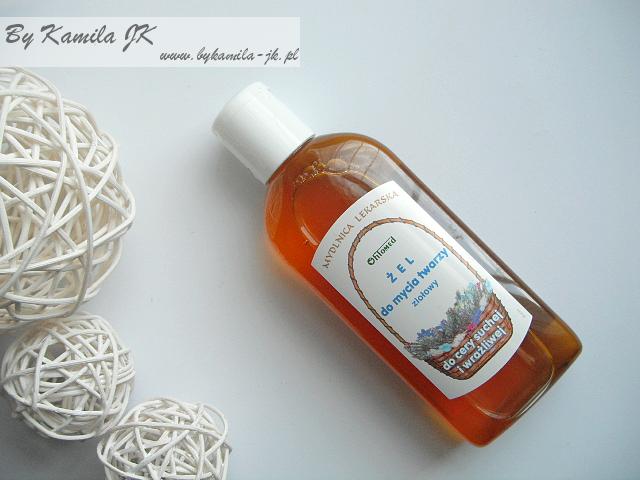Fitomed ziołowy żel do mycia twarzy do cery suchej i wrażliwej