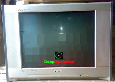 Solusi Kerusakan TV Fujitec Gambar Bergoyang / Berdenyut