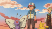 ¡Butterfree y yo!
