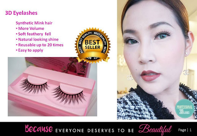 3D Eyelashes (Synthetic Mink Hair)
