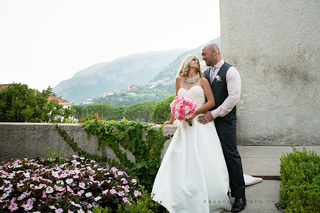 Romantic portrait in Ravello