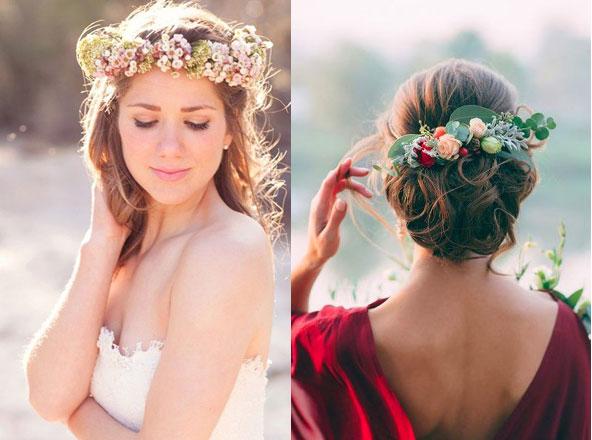 Những kiểu phụ kiện làm điệu tóc cô dâu