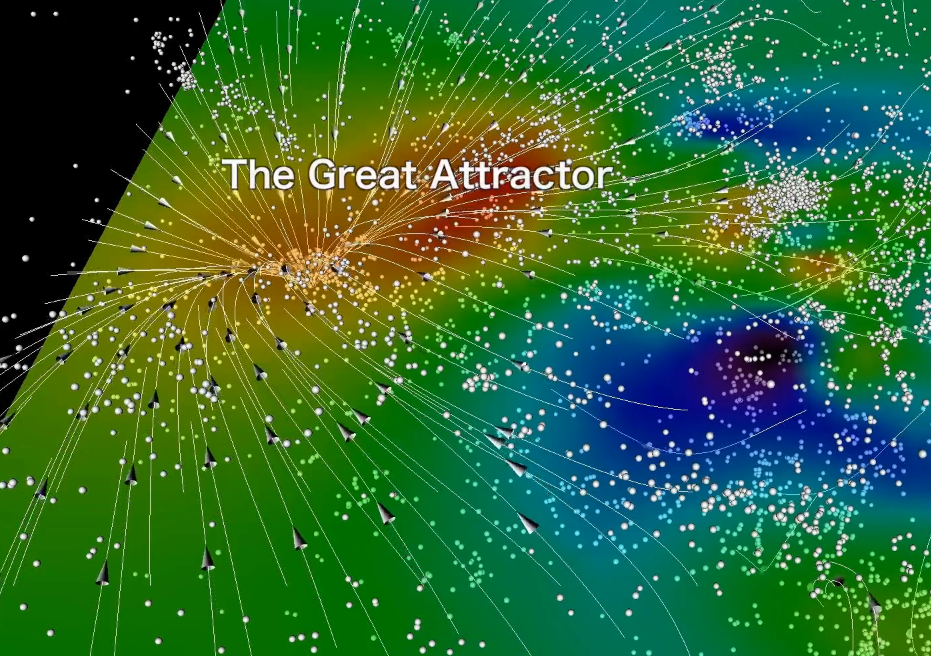 """AstroNews: The Great Attractor --""""Exists Within an Immense ..."""