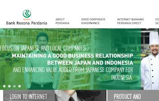 Lowongan Kerja Bandung Branch Account Officer PT Bank Resona Perdania