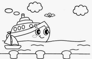 desenhos para colorir de cruzeiros caribe bem grandes
