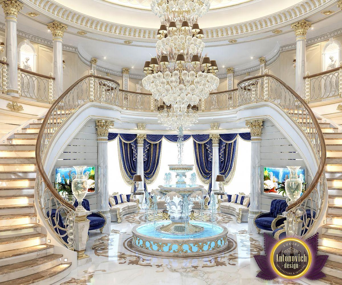 nigeiradesign: Luxury villa interior in Abu Dhabi from ...