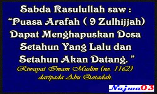 Niat Puasa Arafah, Tarwiyah dan Keutamaannya