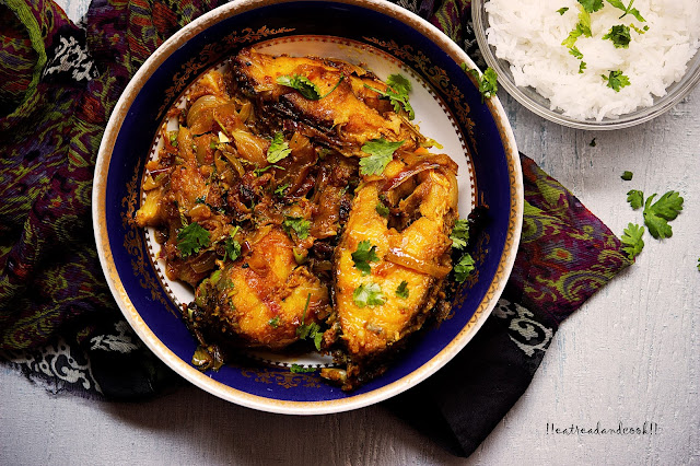 how to make Adar Maach / Bengali Dry Fish Curry with Ginger recipe