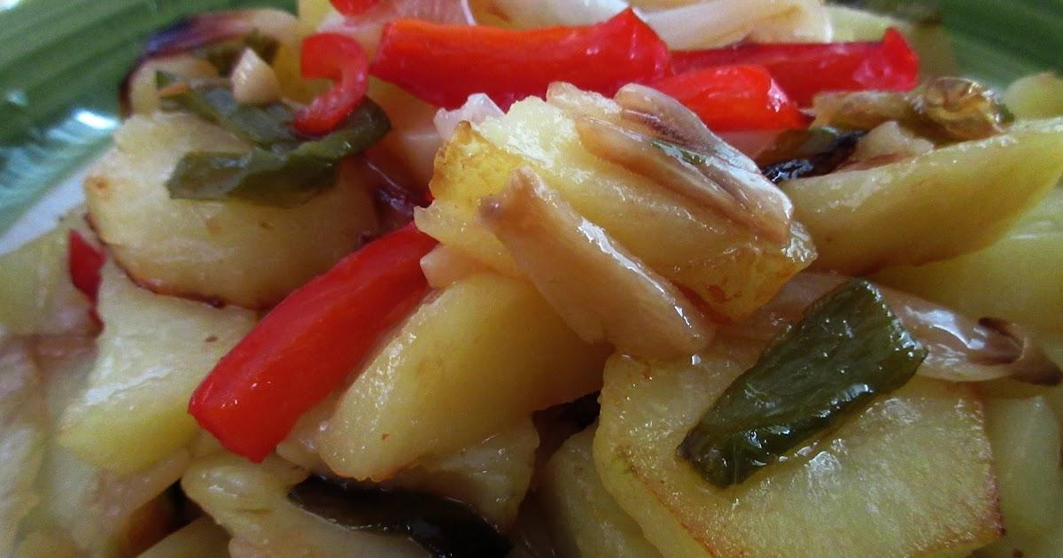 Patatas a lo pobre cocina con reina for Cocinar patatas a lo pobre