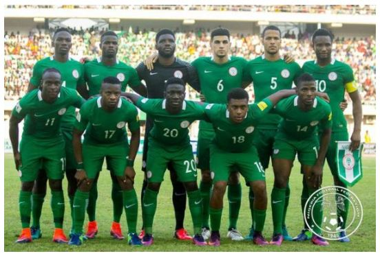 Super Eagles climbs to 38th spot In new FIFA World ranking
