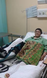 Pembedahan Lutut Dengan Memasukkan Besi Pada Lutut Disebabkan Osteoarthritis