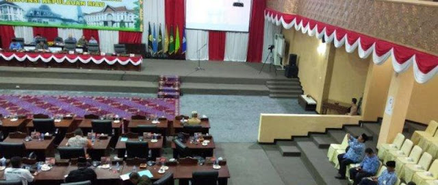Kepala OPD Jarang Ikut Sidang Paripurna, Ketua DPRD Kepri Minta Perhatian Sekda dan Gubernur
