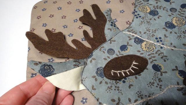 Серебряное копытце Пижамная сумка - подарок девочке на новый год. Ручная работа. Доставка курьером и почтой