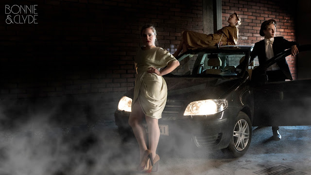 Bonnie, Clyde ja pakoauto