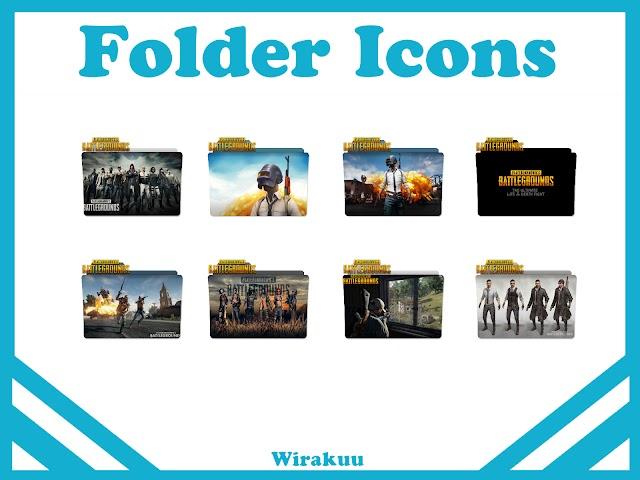 Free Download Folder Icons Game Playerunknown Battleground