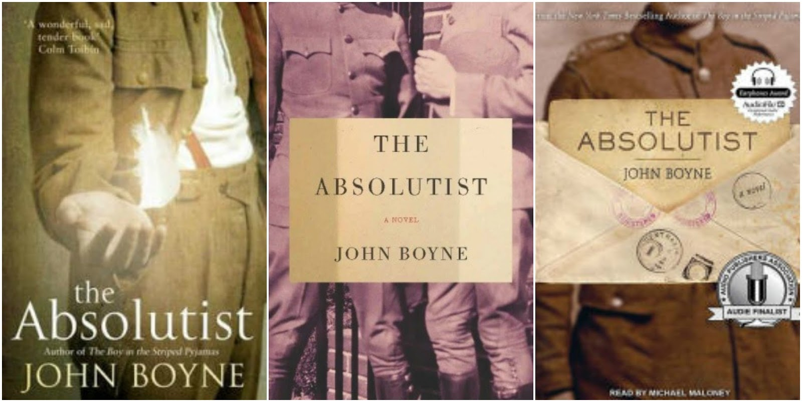 "37 thoughts on ""Book 121: The Absolutist – John Boyne"""