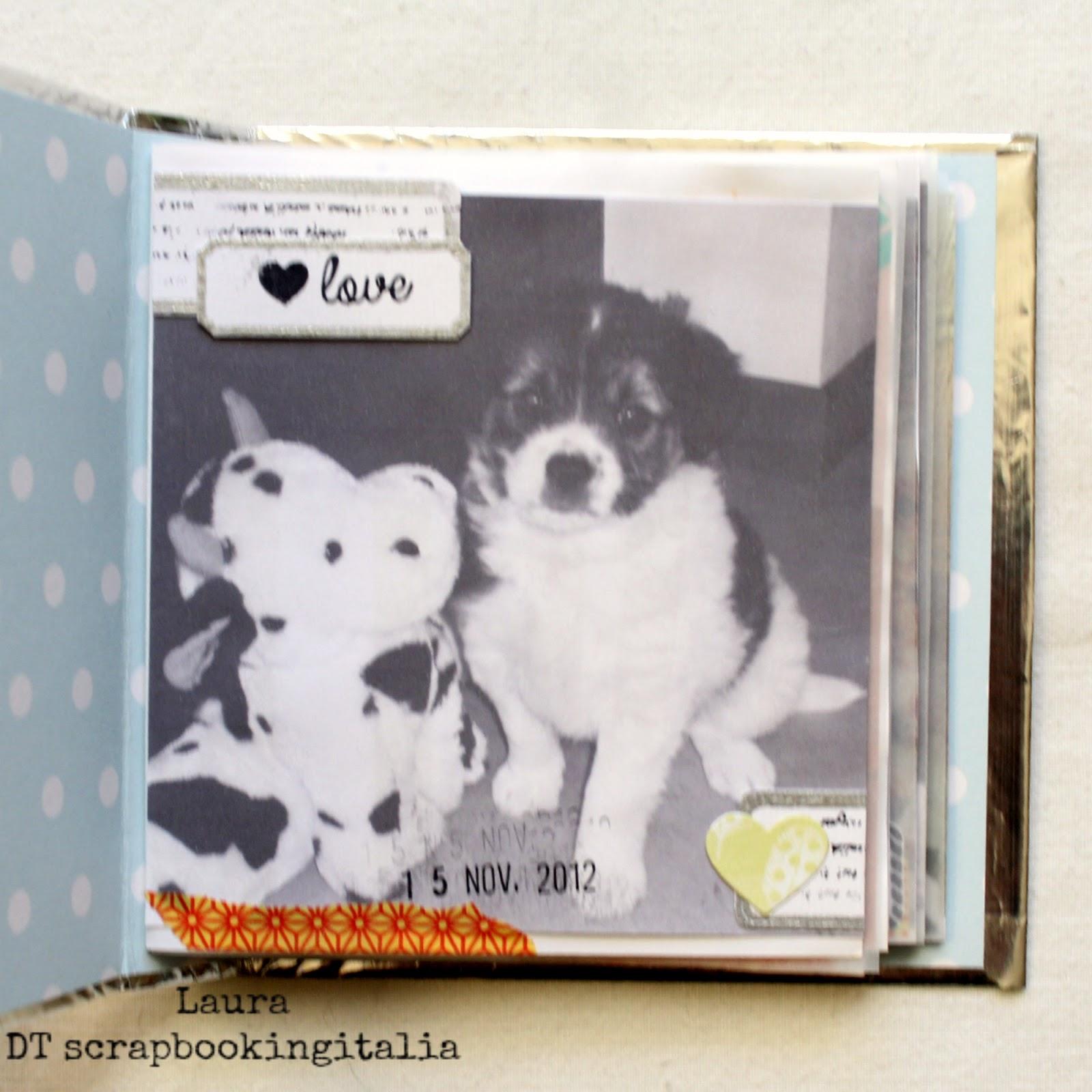 Mini K Che scrapbookingitalia mini album che passione 2