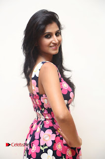Model Shamili Latest Pictures in Floral Short Dress  0104.JPG