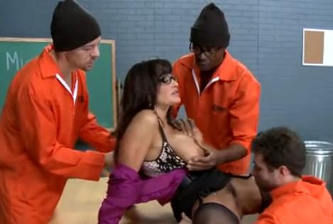 Lisa ann prison teacher