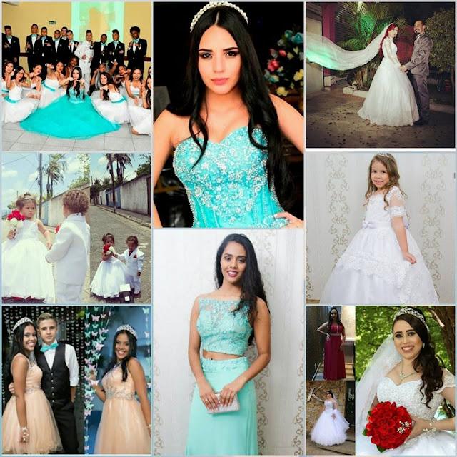 Atelier da Dona Tica: vestidos de festas, noivas e debutantes - feitos com amor e preços especialíssimos!