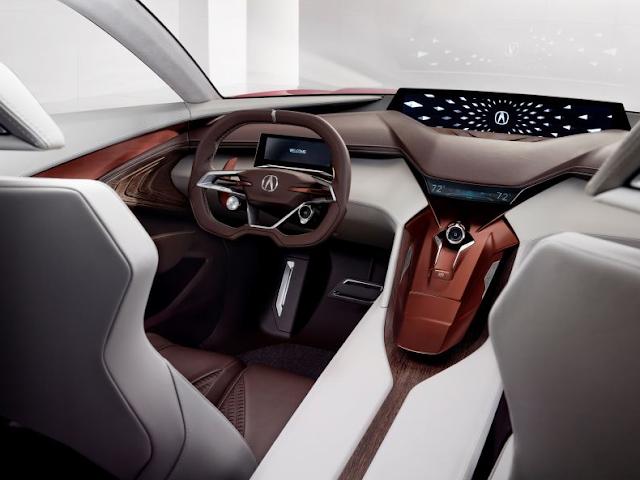 2017 Acura Precision Interior Concept