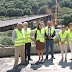 As obras da nova ponte sobre o Miño, en Os Peares estarán rematadas no vindeiro mes de setembro