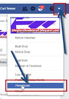 cara mengganti nama akun facebook