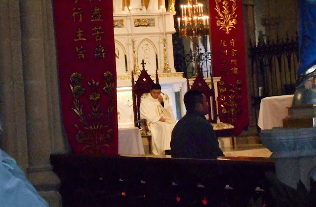 教会の牧師