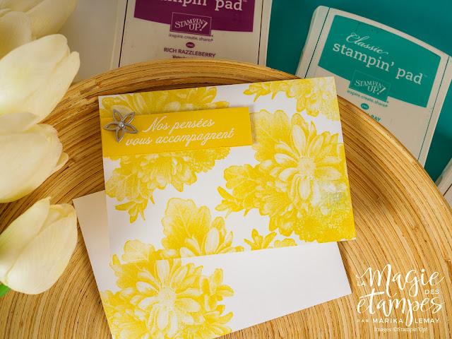 ensemble de cartes Stampin' Up! avec la prime Sale-a-bratiron Fleurs sincères Occasions 2018