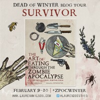 The Art of Eating Through the Zombie Apocalypse Dead of Winter Blog Tour #zpocwinter