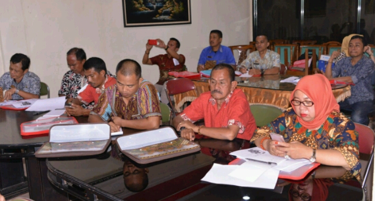 Pemda Gelar Bimtek Penyusunan RAB Bagi Aparatur Kecamatan dan Kelurahan