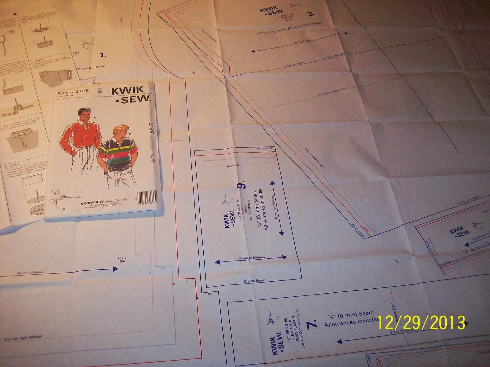 Seam ripper joed his sewing machine kwik sew 2185 mens 1001283g jeuxipadfo Image collections