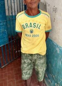 Homem é preso suspeito de estuprar a própria filha em Nina Rodrigues