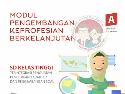 Modul SIM PKB Guru SD Kelas Atas dan kelas Bawah Lengkap