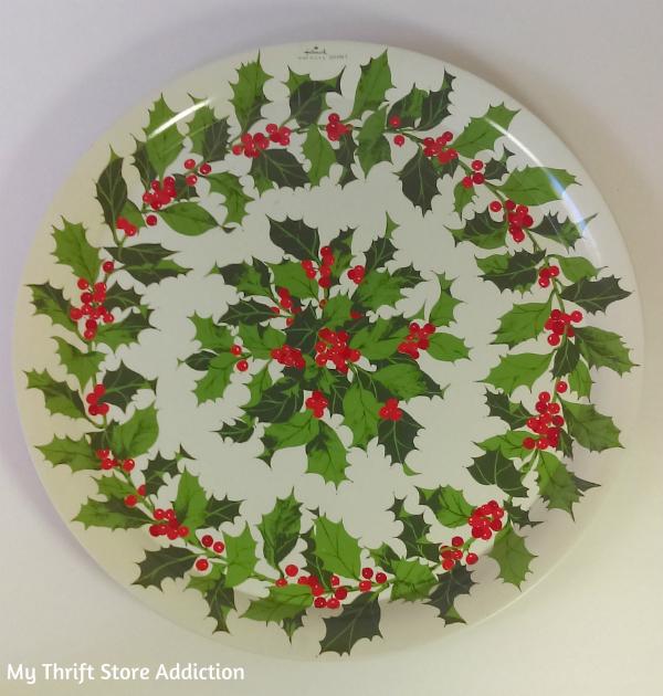 Vintage Hallmark Christmas tray