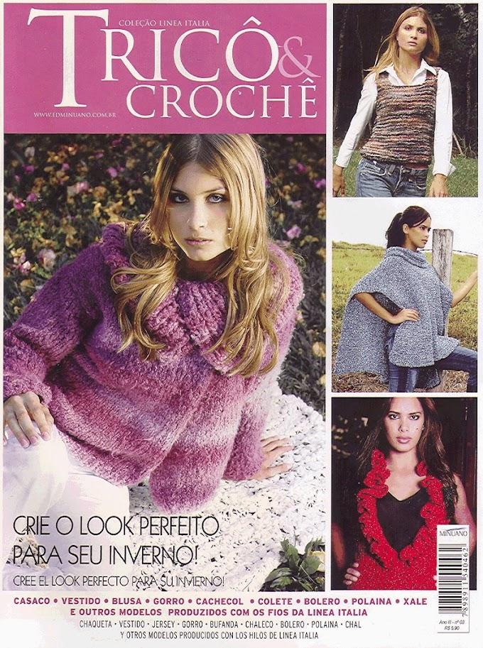 Coleção Linea Italia Tricô & Crochê -N°3