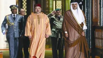 تميم وملك المغرب