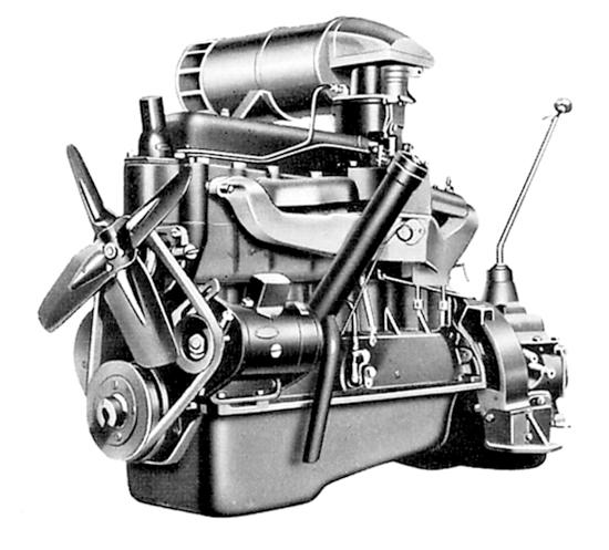 Toyoda Model A engine