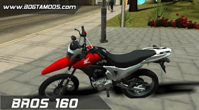 GTA SA - Honda BROS 160 3
