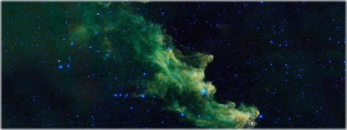 formações e estruturas bizarras no Universo - Nebulosa Cabeça da Bruxa